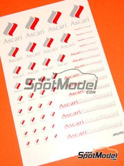 El Torito: Logotypes - Ascari Race Resort - water slide decals