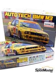 Fujimi: Model car kit 1/24 scale - BMW M3 E30 Autotech Group A