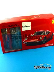 Fujimi: Model car kit 1/24 scale - Ferrari Dino 246GT - plastic model kit