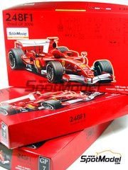 Fujimi: Model car kit 1/20 scale - Ferrari 248F1
