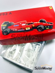 Fujimi: Model car kit 1/20 scale - Ferrari F92A Marlboro #27, 28 - Jean Alesi (FR), Ivan Capelli (IT), Nicola Larini (IT) - FIA Formula 1 World Championship 1992