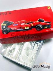 Fujimi: Model car kit 1/20 scale - Ferrari F92A Marlboro #27, 28 - Jean Alesi (FR), Ivan Capelli (IT), Nicola Larini (IT) - World Championship 1992
