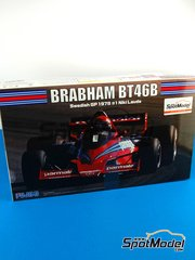 Fujimi: Model car kit 1/20 scale - Brabham Alfa Romeo BT46B Parmalat #1, 2 - Niki Lauda (AT), John Watson (GB) - Swedish Grand Prix 1978 image