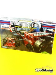 Fujimi: Model car kit 1/20 scale - Brabham BT46B Parmalat #2 - John Watson (GB) - Swedish Grand Prix 1978 - plastic model kit