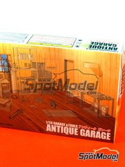Fujimi: Model kit 1/24 scale - Antique garage (TOOLS NOT INCLUDED)