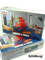 Fujimi: Model kit 1/24 scale - Tools