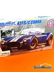 Fujimi: Model car kit 1/24 scale - Shelby American 427 S/C Cobra - plastic model kit