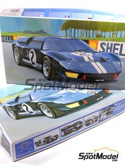 Fujimi: Model car kit 1/24 scale - Ford GT40 Mk II #2 - 24 Hours Le Mans 1966 image
