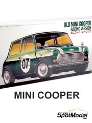 Fujimi: Model car kit 1/24 scale - Mini Cooper Mk I #7 - plastic model kit image
