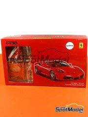 Fujimi: Model car kit 1/24 scale - Ferrari F430 Spider - plastic model kit image