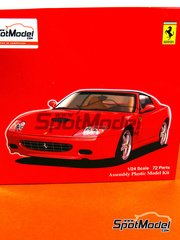 Fujimi: Model car kit 1/24 scale - Ferrari 575M Maranello Super America