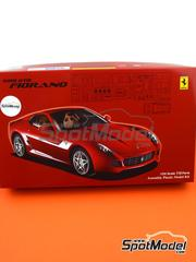 Fujimi: Model car kit 1/24 scale - Ferrari 599 GTB Fiorano - plastic model kit image