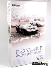 Fujimi: Model car kit 1/24 scale - Ford GT40 Mk II
