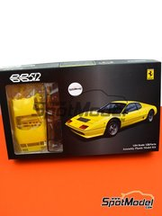 Fujimi: Model car kit 1/24 scale - Ferrari 512BB - plastic parts, rubber parts, water slide decals, assembly instructions and painting instructions