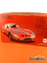 Fujimi: Model kit 1/24 scale - Ferrari 250 GTO - plastic model kit image
