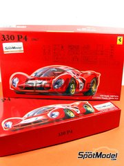 Fujimi: Model car kit 1/24 scale - Ferrari 330 P4 Chasis 0858
