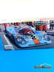Fujimi: Model car kit 1/24 scale - Porsche 917K Gulf #2 - Pedro Rodriguez (MX) - 24 Hours Daytona 1971