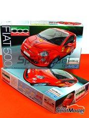 Fujimi: Model car kit 1/24 scale - Fiat 500 Cinquecento F1 GP version
