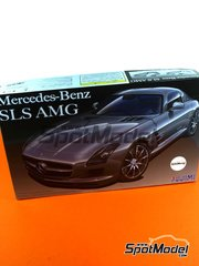Fujimi: Model car kit 1/24 scale - Mercedes Benz SLS AMG - plastic model kit image