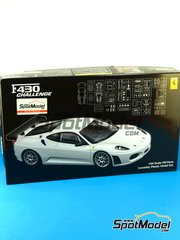 Fujimi: Model car kit 1/24 scale - Ferrari F430 Challenge - plastic model kit