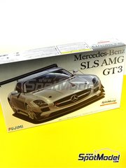 Fujimi: Model car kit 1/24 scale - Mercedes Benz SLS AMG GT3 - plastic kit image