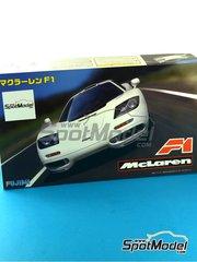 Fujimi: Model car kit 1/24 scale - McLaren F1 - plastic model kit image