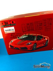Fujimi: Model car kit 1/24 scale - Ferrari 430 Scuderia - plastic kit and photo-etchs image