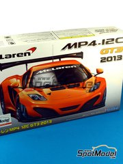 Fujimi: Model car kit 1/24 scale - McLaren MP4-12C GT3 2013 - plastic model kit image