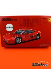 Fujimi: Model car kit 1/24 scale - Ferrari 348GTB - plastic model kit image