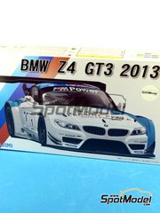 Fujimi: Model kit 1/24 scale - BMW Z4 GT3 Randstad #1 2013 - plastic model kit image