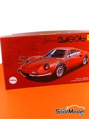 Fujimi: Model car kit 1/24 scale - Ferrari Dino 246GT - plastic model kit image