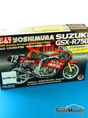 Bike kit 1/12 by Fujimi - Yoshimura Suzuki GSX-R750 Motul # 12 - Kevin Schwantz + Satoshi Tsujimoto - Suzuka 8 Hours Endurance Race  1986 image