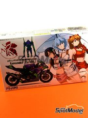 Fujimi: Model bike kit 1/12 scale - Kawasaki ZX-10R #01 2010