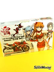 Fujimi: Model bike kit 1/12 scale - Kawasaki ZX-10R FRTR #2 2011 - plastic model kit