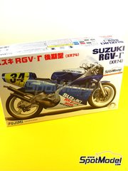 Fujimi: Model bike kit 1/12 scale - Suzuki RGV-G XR74 Motul #34 1988 image