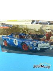Hasegawa: Model car kit 1/24 scale - Lancia Stratos HF Chardonnet #1, 4 - Bernard Darniche (FR) + Alain Mahé (FR) - Montecarlo Rally, Tour de Corse 1979 - plastic model kit