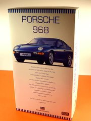 Hasegawa: Model car kit 1/24 scale - Porsche 968 - plastic model kit image