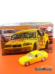 Hasegawa: Model car kit 1/24 scale - BMW 318i Auto Tech #35 - Scott-Brown - Japan Touring Car Championship - JTCC 1994 - plastic model kit image
