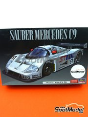 Hasegawa: Model car kit 1/24 scale - Sauber Mercedes C9 #61