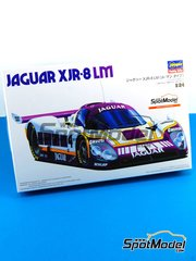 Hasegawa: Model car kit 1/24 scale - Jaguar XJR-8 LM Silk Cut #4, 5, 6 - Eddie Cheever (US) + Raul Boesel (BR) + Jan Lammers (NL), Jan Lammers (NL) + John Watson (GB) + Win Percy (GB), Martin Brundle (GB) + John Nielsen (DK) - 24 Hours Le Mans 1987