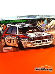 Hasegawa: Model car kit 1/24 scale - Lancia Super Delta HF