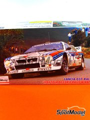Hasegawa: Model car kit 1/24 scale - Lancia 037 Rally