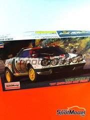 Hasegawa: Model car kit 1/24 scale - Lancia Stratos HF