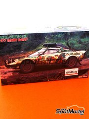 Hasegawa: Model car kit 1/25 scale - Lancia Stratos HF
