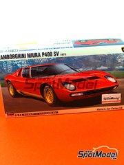 Hasegawa: Model car kit 1/24 scale - Lamborghini Miura P400 SV