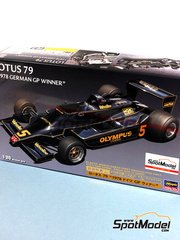 Hasegawa: Model car kit 1/20 scale - Lotus Type 79