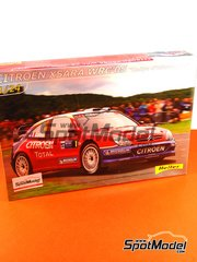 Heller: Model car kit 1/24 scale - Citroen Xsara WRC Total #1 - Sebastien Loeb (FR) - ADAC Deutschland Rally 2005
