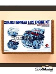 Hobby Design: Engine 1/24 scale - Subaru Impreza EJ20 - resin kit