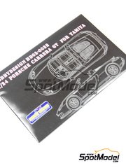 Hobby Design: Photo-etched parts 1/24 scale - Porsche Carrera GT - resins and photo-etched parts - for Tamiya kit TAM24275