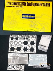Hobby Design: Photo-etched parts 1/12 scale - Yamaha YZR500